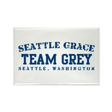 Team Grey - Seattle Grace Rectangle Magnet