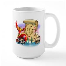 Tampa Bay Marathon Swim Large Mug