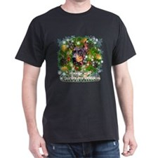 Merry Christmas Doberman 3 T-Shirt