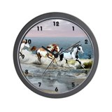 Painted Ocean Fun Stuff Wall Clock