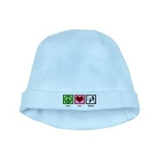 Peace Love Theatre baby hat