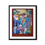 Rodeo Framed Panel Print