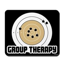Group Therapy - Guns Mousepad