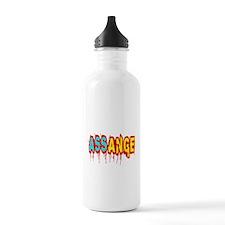 Assange Wikileaks Water Bottle