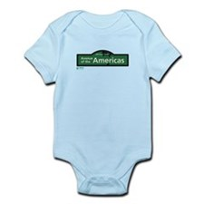 Avenue of the Americas in NY Infant Bodysuit