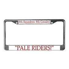 4th Squadron 4th Cav License Plate Frame