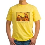Mendel's Peas (Yellow T-shirt)