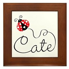 Cate Framed Tile