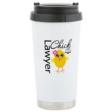 Lawyer Chick Ceramic Travel Mug