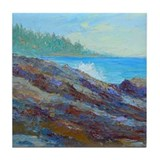 Tile Coaster - Maine on the Rocks