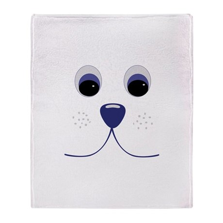 Smiling Pets 1 Throw Blanket