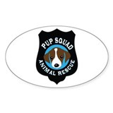 Cute Rescue squad Decal