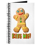 Bite Me Gingerbread Man Journal