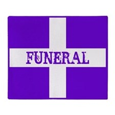 Funeral Throw Blanket
