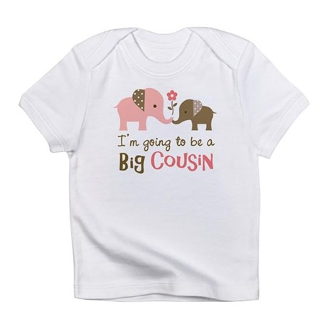 Big Cousin - Elephant Infant T-Shirt