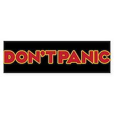 Dont Panic Bumper Sticker Bumper Bumper Sticker
