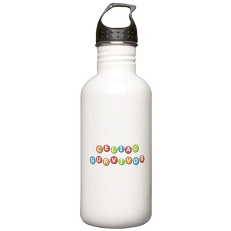 Celiac Survivor Stainless Water Bottle 1.0L