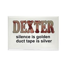 Cute Dexter Rectangle Magnet (100 pack)