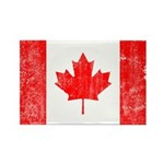 Canadian Flag Rectangle Magnet (100 pack)