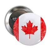"Canadian Flag 2.25"" Button"