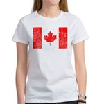 Canadian Flag Women's T-Shirt