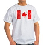 Canadian Flag Light T-Shirt