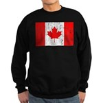Canadian Flag Sweatshirt (dark)