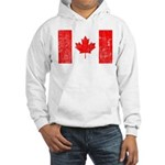 Canadian Flag Hooded Sweatshirt