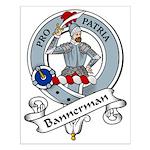 Bannerman Clan Badge Small Poster