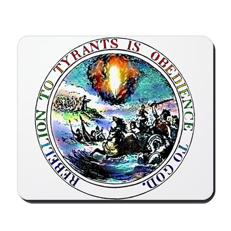 Rebellion to Tyrants Mousepad