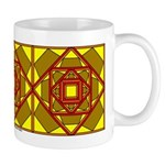 Brown Shield Design Mug