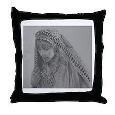 Afghan Woman -Throw Pillow