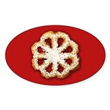 Scandanavian Rosette Cookie Decal