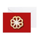 Scandanavian Rosette Cookie Greeting Cards (Pk of