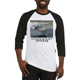 Kayaking whitewater junkie Baseball Jersey