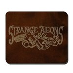 Strange Aeons Logo 'Leather' Mousepad