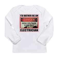 ELECTRICIAN Long Sleeve Infant T-Shirt