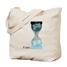 I Am WikiLeaks Tote Bag