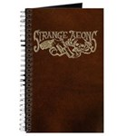 Strange Aeons Logo 'Leather' Journal