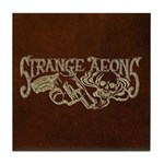 Strange Aeons Logo 'Leather' Tile Coaster