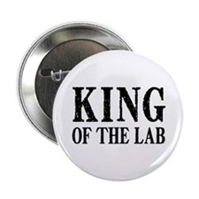 "King of the Lab 2.25"" Button"