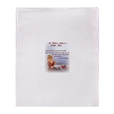 Boy Prayer Throw Blanket