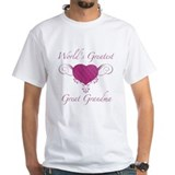 World's Greatest Great Grandma (Heart) Shirt