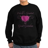 World's Greatest Great Grandma (Heart) Jumper Sweater