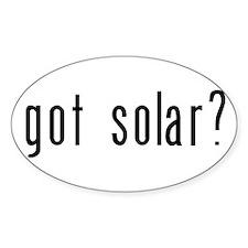 got solar? Decal