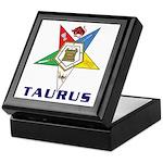 OES Taurus Keepsake Box