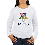 OES Taurus Sign Women's Long Sleeve T-Shirt