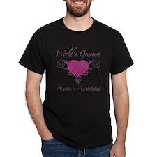 World's Greatest Nurse's Assistant (Heart) T-Shirt