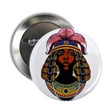 "queen of Sheba 2.25"" Button"