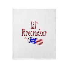 Lil' Firecracker Throw Blanket